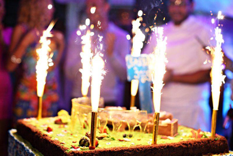 Оригинальный день рождения в ресторане